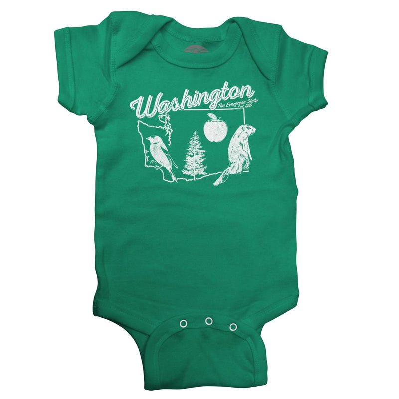 Washington Infant Bodysuit - Unisex Fit