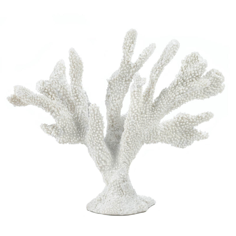 Large White Coral Decor