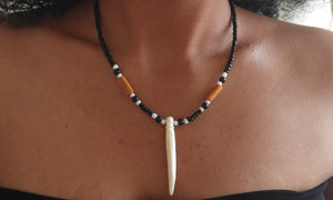 African Bone Necklace - Oludan