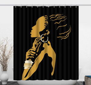 Mosemose African Shower Curtain - Oludan