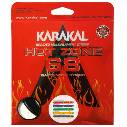 Karakal Hot Zone 68 Badminton Restring