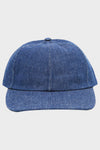 Distressed Canvas Cap - Navy