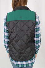 Charcoal Vest- Lauren James Easton Vest Back