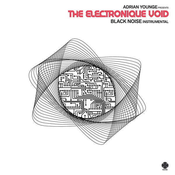 ADRIAN YOUNGE PRESENTS - The Electronique Void: Black Noise Instrumental - vinyl