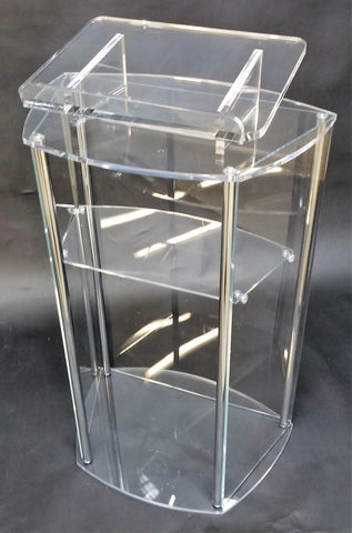 Acrylic Lectern with Post - FREE SHIPPING!