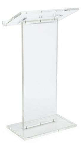 Acrylic Lectern Clear Podium Series