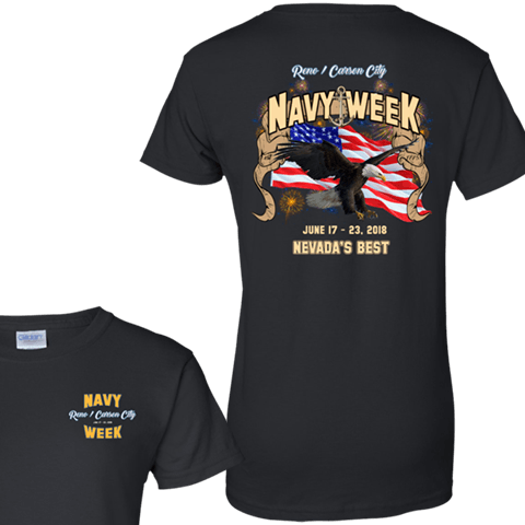 Navy Week in Reno/Carson City Tshirt And Long Sleeve