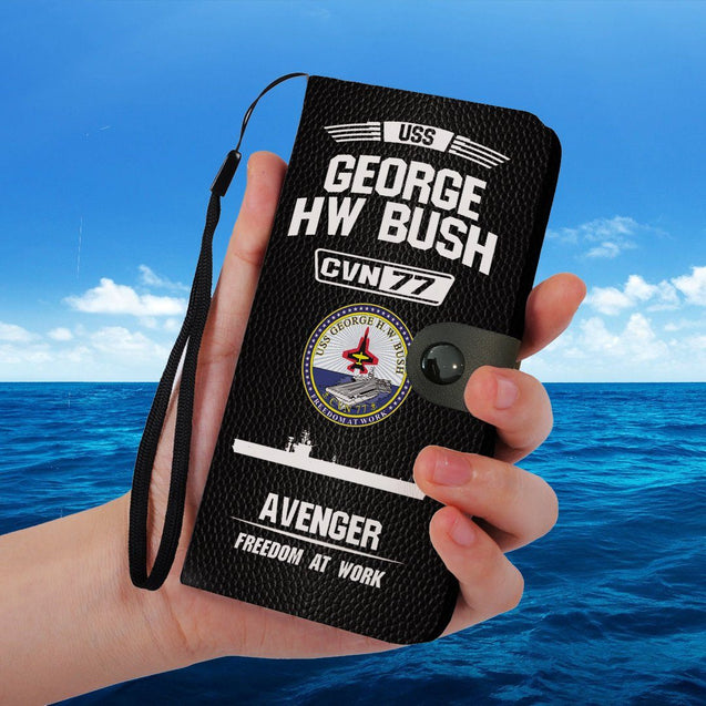 USS GEORGE HW BUSH PHONE CASE