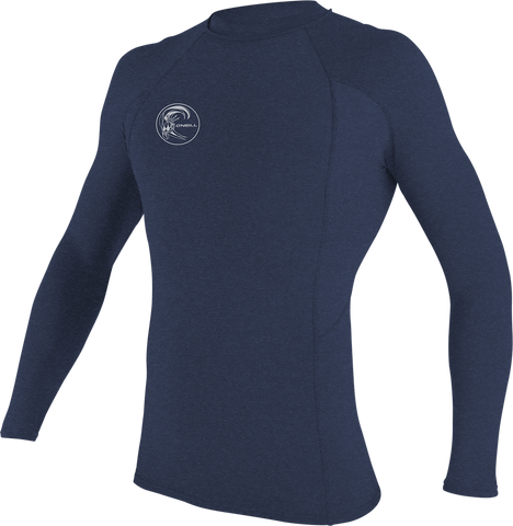 O'Neill Men's Hybrid Long Sleeve Crew Rash Guard