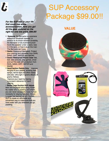 SUP Accessory Package