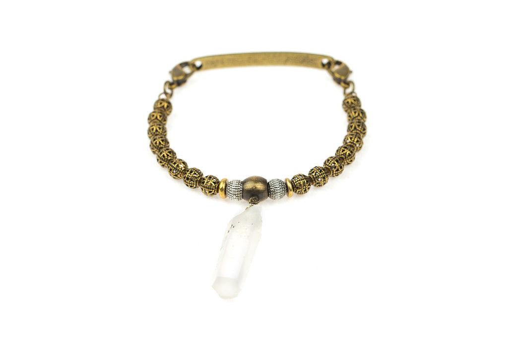 Focal Bangle Quartz Drop - Across The Way