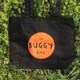 * THE BUGGY BAG * NEW SCREEN PRINTED ORGANIC TOTE/SHOPPER BAG * 4 fab colours