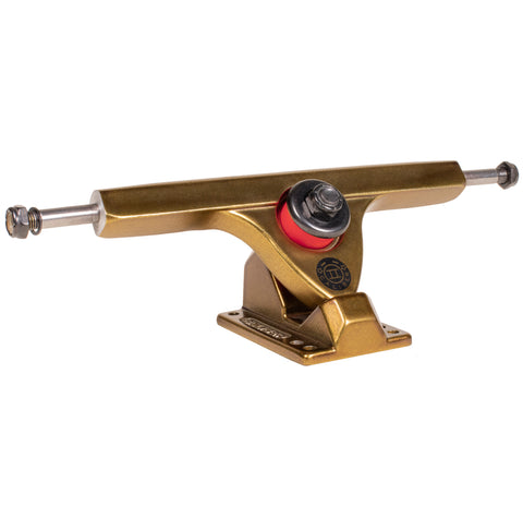 Caliber II 184mm 44° Gangster Gold Trucks w/ Venom Plug Bushings