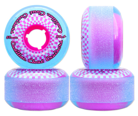 Cadillac Clout Cruisers 57mm/80A Blue/Pink