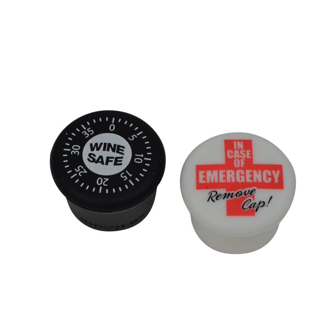 Wine Safe/In Case of Emergency Remove Cap
