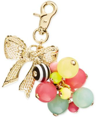 Kitsch Bow and Ball Multi Purse Fob by Betsey Johnson