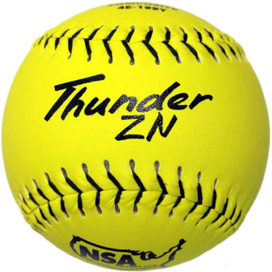 "Dudley NSA Thunder ZN ICON 12"" 44/400 Composite Slowpitch Softballs: 4E-199Y"