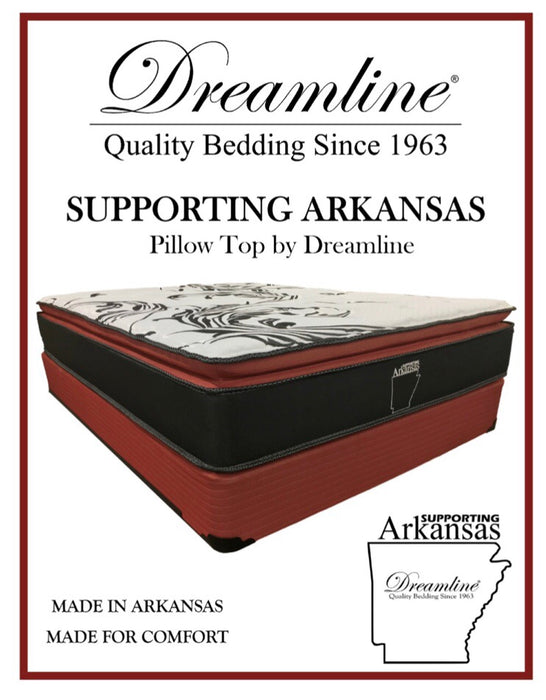 Supporting Arkansas Pillow Top Mattress