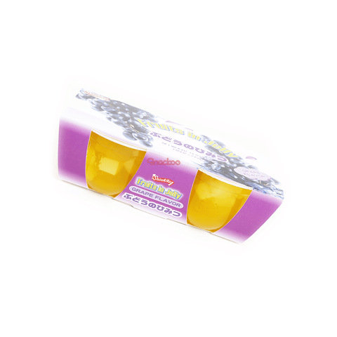 "Grape ""Fruits In Jelly"" Cup - 2 PCS Snackoo"