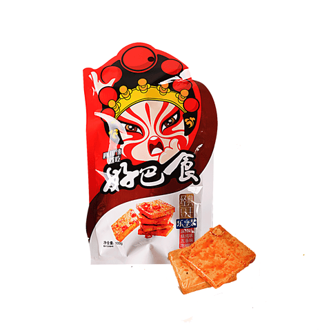 HBS Dried Bean Curd Mixed Flavors - 100g Snackoo