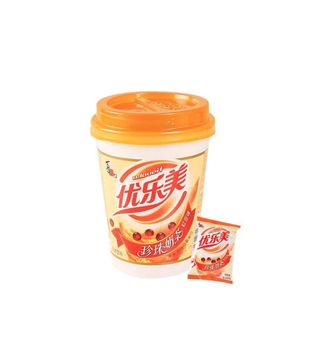 U.LOVEIT Red Bean Flavored Milk Tea With Pearl Snackoo