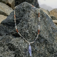 Multicolor Moonstone 108 knotted