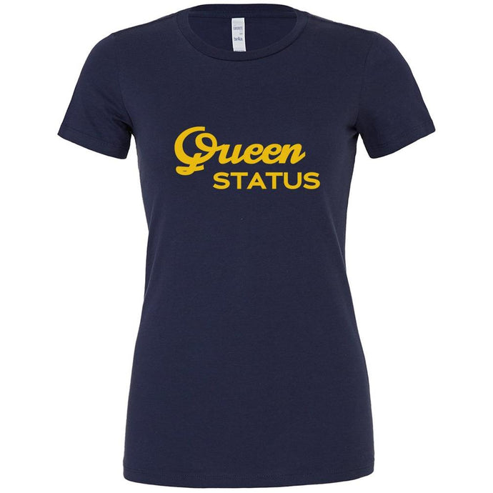 Navy Queen Status T-shirt
