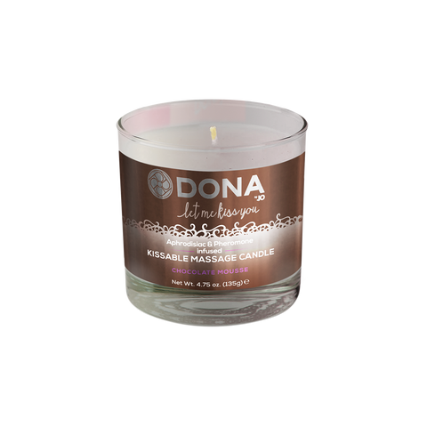 Dona by JO Kissable Massage Candle Chocolate Mousse