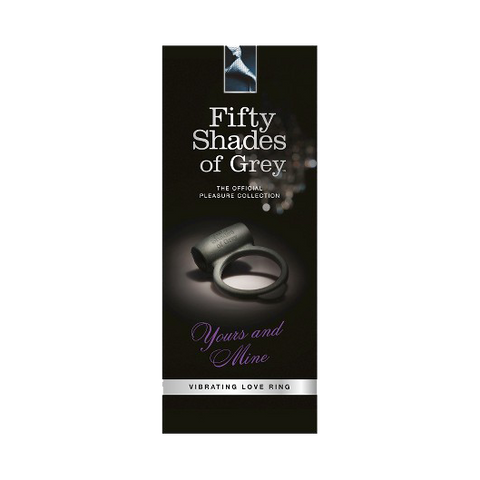 50 Shades of Grey Yours and Mine Vibrating Love Cock Ring Box