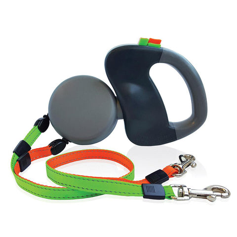Amenitee Innovative Zero Tangle Dual Pet Leash