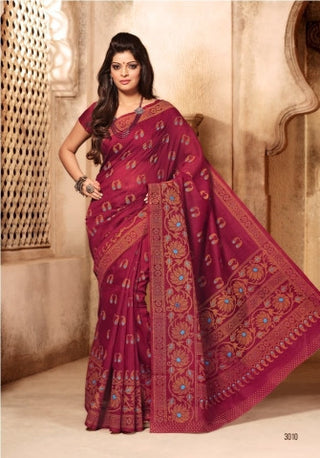 Anmol Cotton Saree 3009