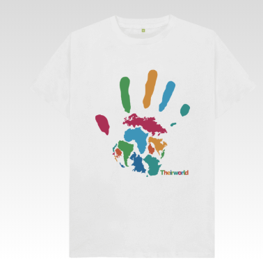 Theirworld Handprint T-Shirt  - Men's