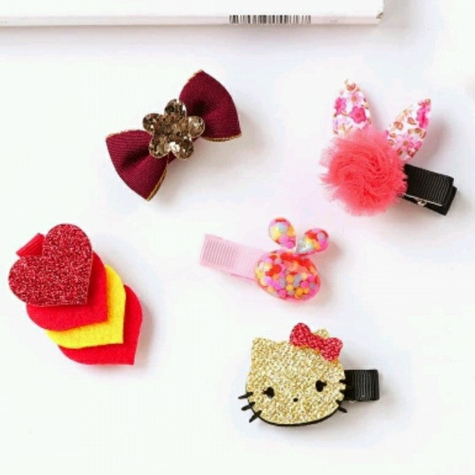 5pcs Hair Clips