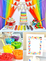 Jelly Beans Birthday Party Printables Supplies & Decorations | BirdsParty.com