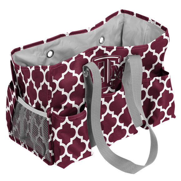 TX A&M Quatrefoil Jr Caddy