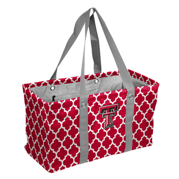 TX Tech Quatrefoil Picnic Caddy