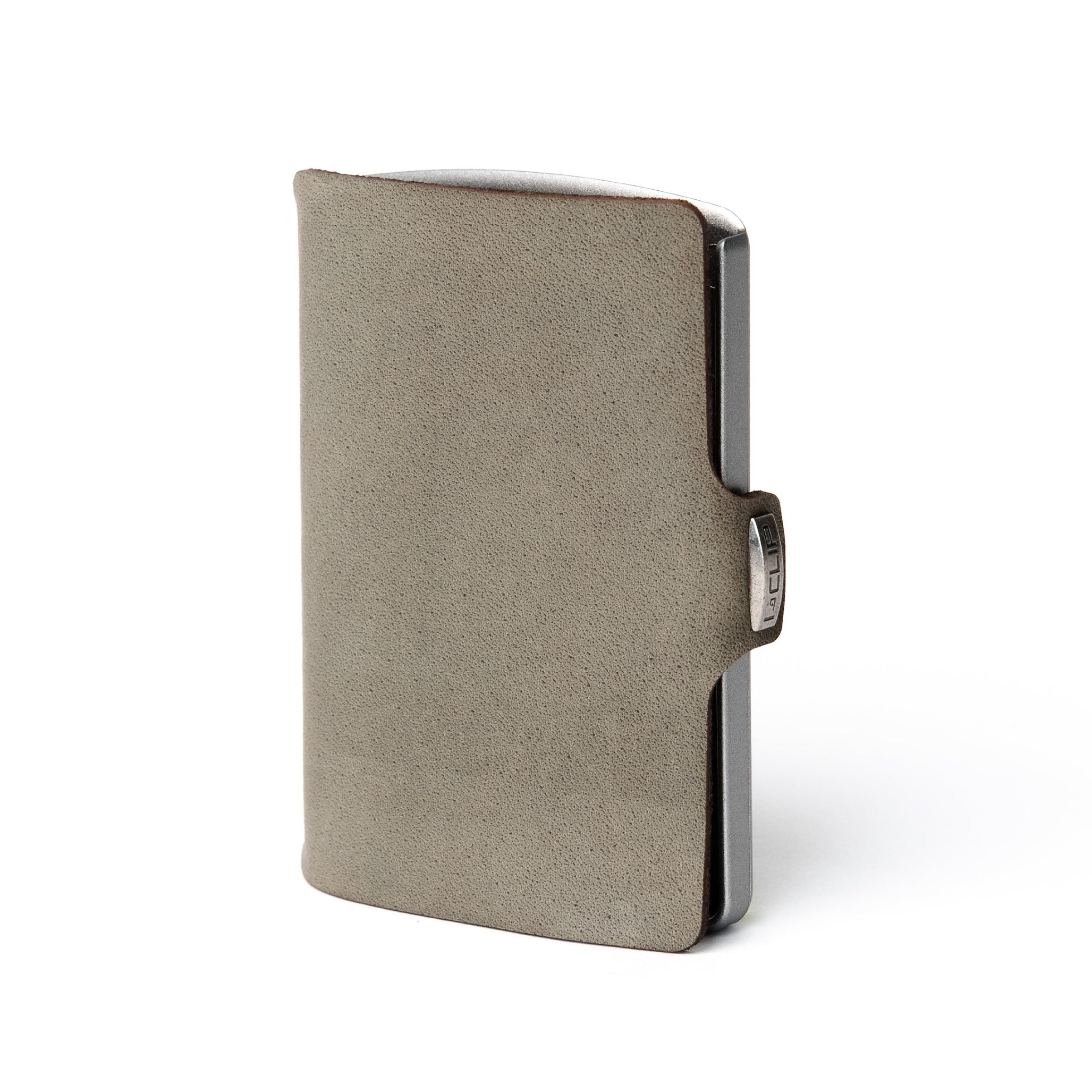 Soft Touch Leather - Olive / Metallic Gray Frame - I-CLIP