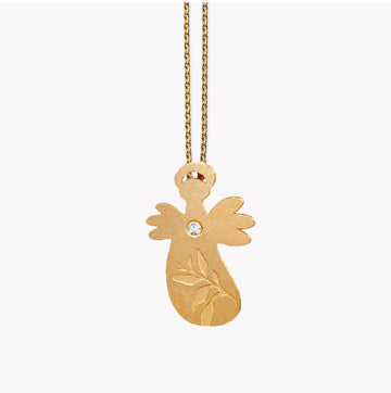 Guardian Angel - Leaf - Gold-plated