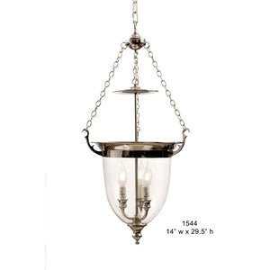 Brass Lantern and Pendant - 1544Pendant - Graham's Lighting Memphis, TN