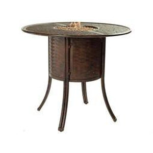 Resort Round Fire Pit Bar TableFire Pits - Graham's Lighting Memphis, TN