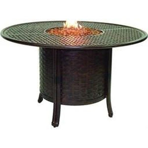 Resort Round Fire Pit Dining TableFire Pits - Graham's Lighting Memphis, TN
