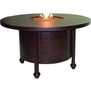 French Quarter Round Fire Pit Dining TableFire Pits - Graham's Lighting Memphis, TN
