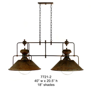 Brass Lantern and Pendant - 7721-2Pendant - Graham's Lighting Memphis, TN