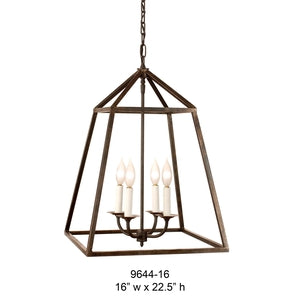 Other Metal Lantern and Pendant - 9644-16Pendant - Graham's Lighting Memphis, TN