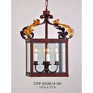 Other Metal Lantern and Pendant - CFF-0426/4-06Pendant - Graham's Lighting Memphis, TN