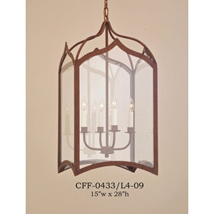 Other Metal Lantern and Pendant - CFF-0433/L4-09Pendant - Graham's Lighting Memphis, TN
