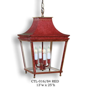 Other Metal Lantern and Pendant - CTL-Z016/S4 REDPendant - Graham's Lighting Memphis, TN