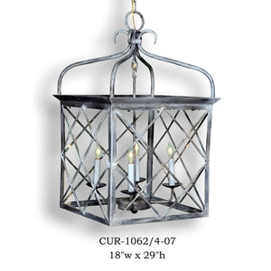 Other Metal Lantern and Pendant - CUR-1062/4-07Pendant - Graham's Lighting Memphis, TN