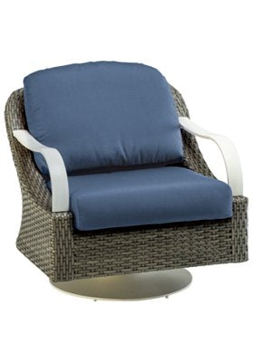 Shoreline Woven Swivel Lounge Chair