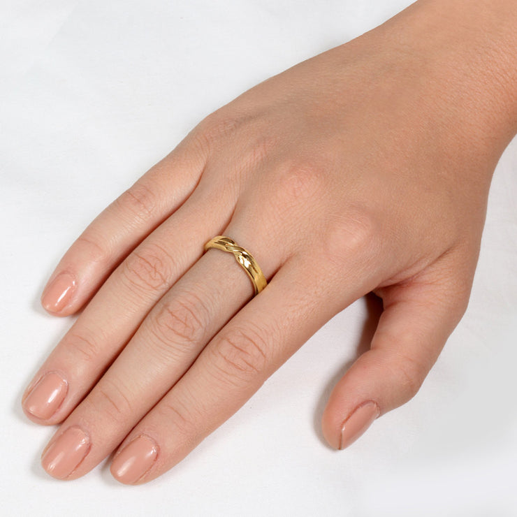 Love Knot Wedding Band Ring